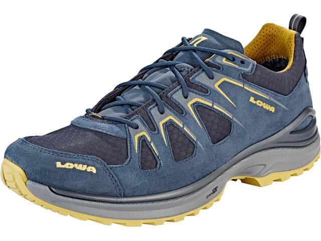 Lowa Innox Evo GTX Buty Mężczyźni, steel blue/mustard